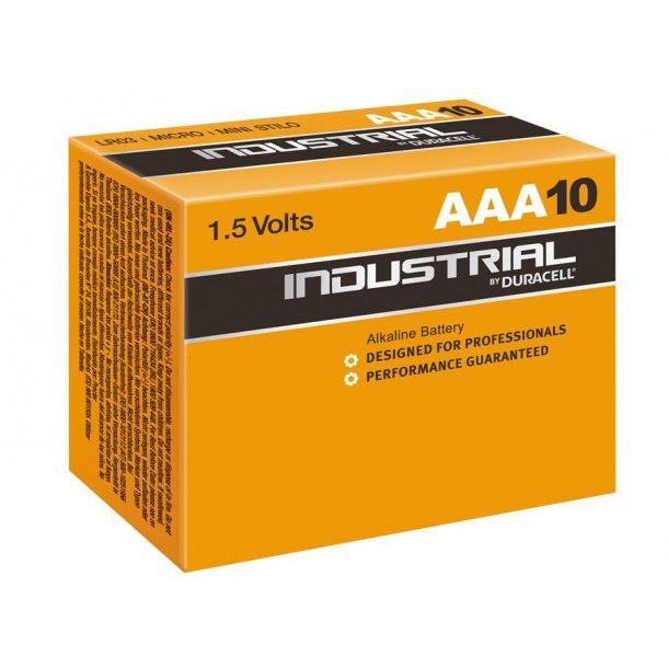 Duracell - LR03 Industri AAA (10-pak)