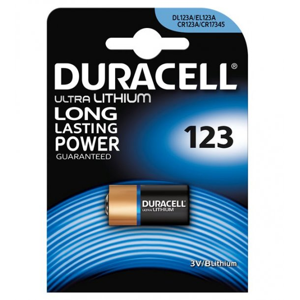 Duracell - CR123