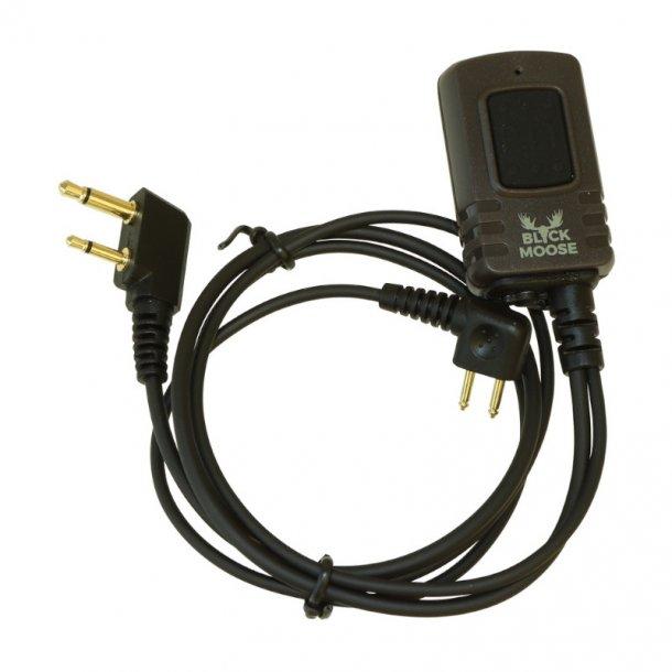 Black Moose - Radiokabel til Peltor høreværn