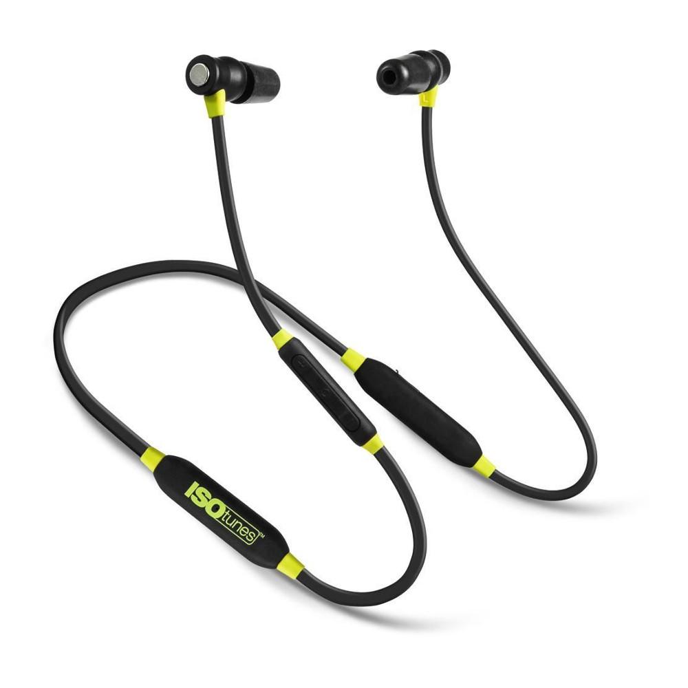 Billede af ISOtunes - Xtra v2 Støjisolerende Høretelefoner Sort / Gul