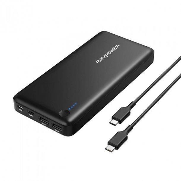 RAVPower - 26.800 mAh power bank (USB-C)