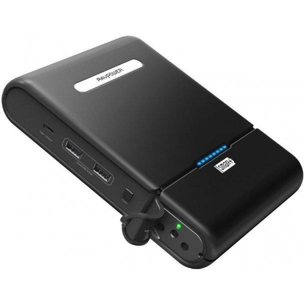 RAVPower - 27.000 mAh, 220 V og USB-C Powerbank