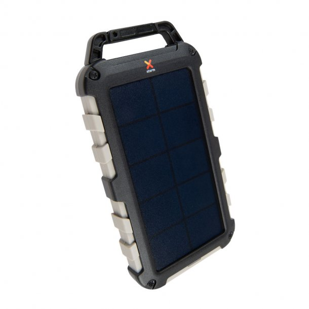 Xtorm - Robust Solcelleopladet Powerbank 10.000 mAh