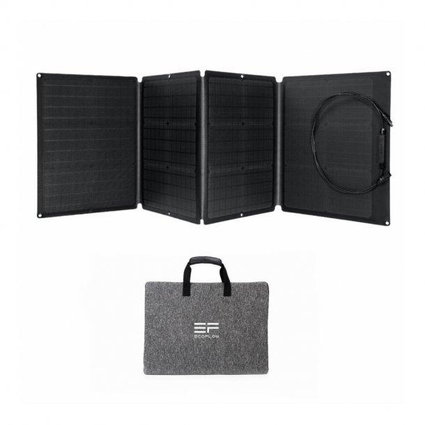 EcoFlow - Solcellepanel (110W)