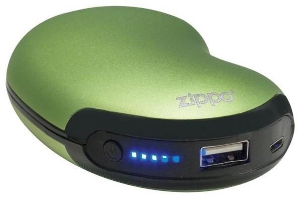 Zippo HeatBank 3 2600 MAh GenopladeligSølv