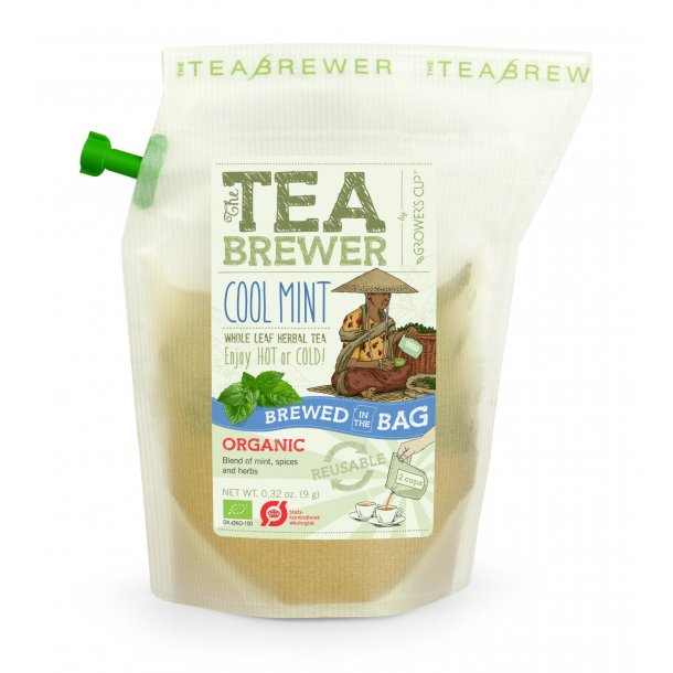 Grower's Cup - Cool Mint Økologisk Gourmet Te