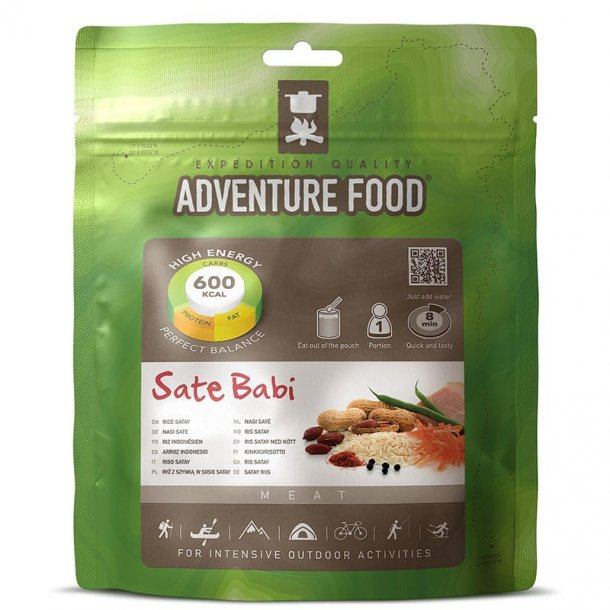Adventure Food - Sate Babi (600 kcal, 1 portion)