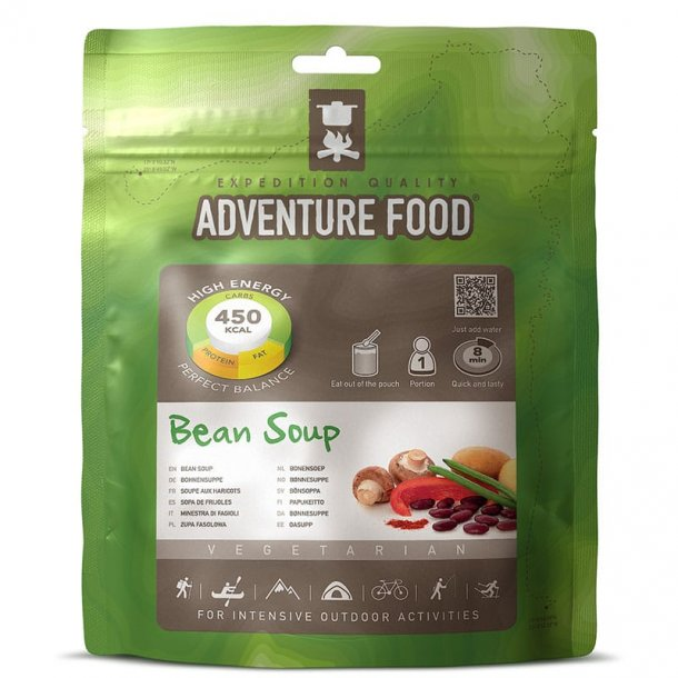 Adventure Food - Brown Bean Suppe (450 kcal, 1 portion)