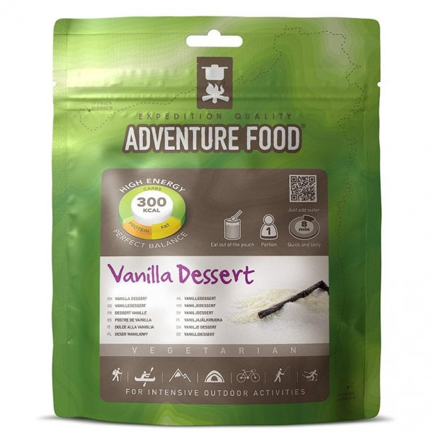 Adventure Food - Vanilla Dessert (300 kcal, 1 portion)