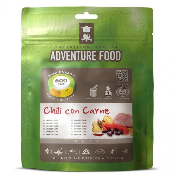 Adventure Food - Chili con Carne (600 kcal, 1 portion)