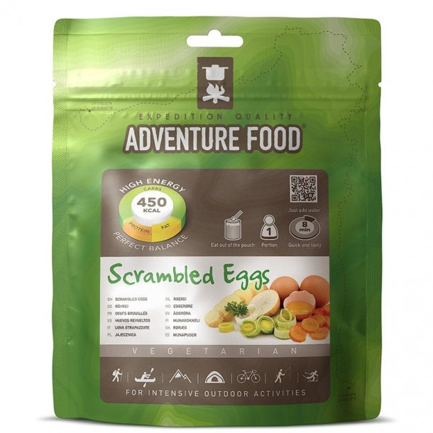Adventure Food - Scrambled Eggs (450 kcal, 1 portion)