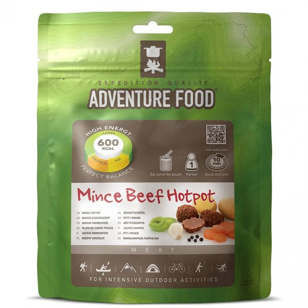 Adventure Food - Mince Beef Hotpot (600 kcal, 1 portion)
