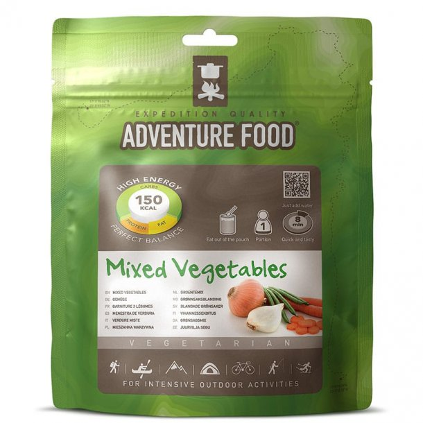 Adventure Food - Mixed Vegetables (150 kcal, 1 portion)