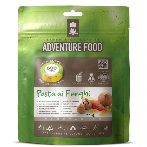 Adventure Food - Pasta Ai Funghi (600 kcal, 1 portion)