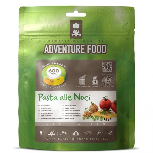 Adventure Food - Pasta alle Noci (600 kcal, 1 portion)