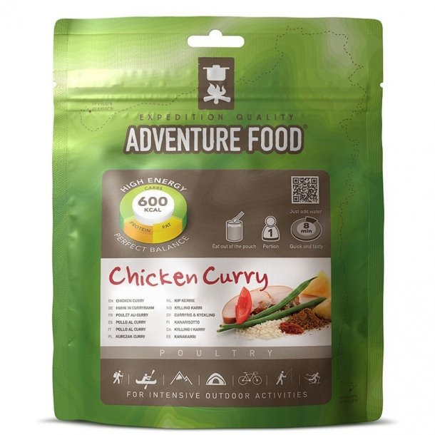 Adventure Food - Chicken Curry (600 kcal, 1 portion)
