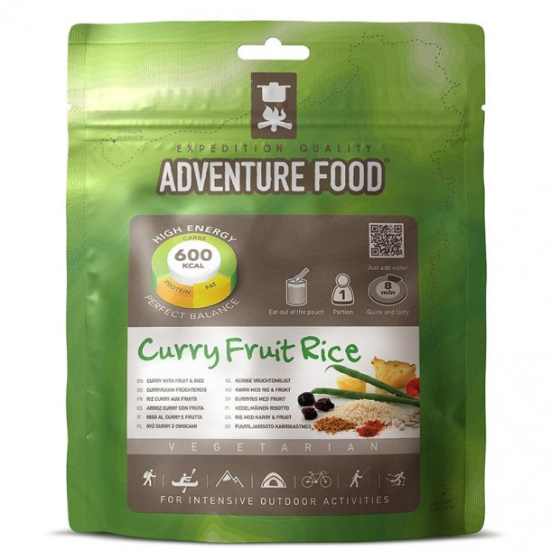 Adventure Food - Curry Fruit Rice (600 kcal, 1 portion)