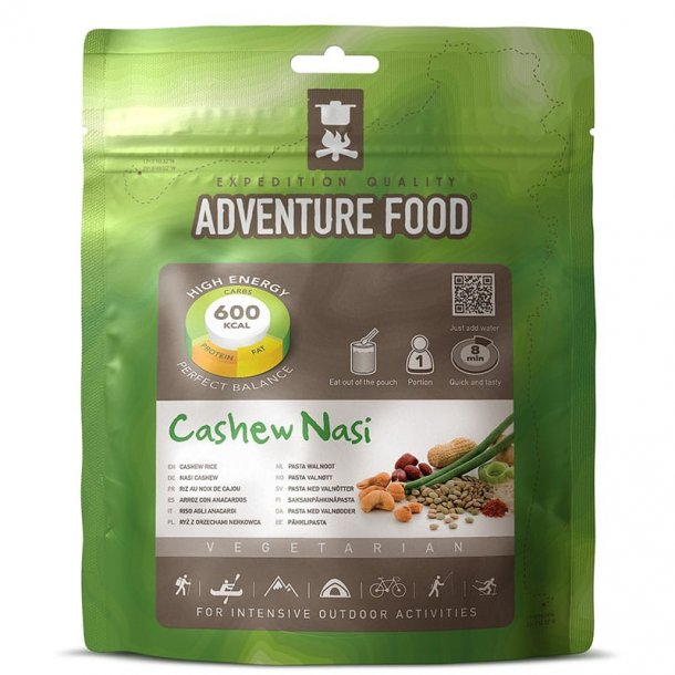 Adventure Food - Cashew Nasi (600 kcal, 1 portion)