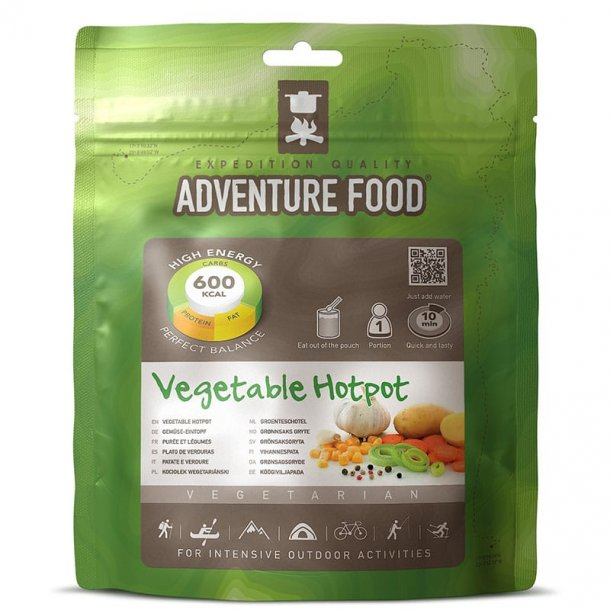 Adventure Food - Vegetable Hotpot (600 kcal, 1 portion)