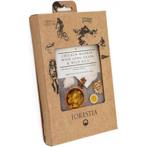 Forestia - Karry Kylling med Langkornede og Vilde Ris (469 kcal)