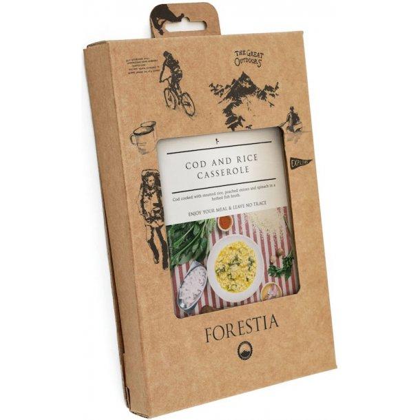 Forestia - Torskegryde med Ris (119 kcal)