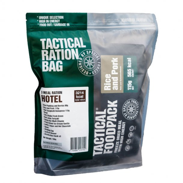 Tactical Foodpack - Feltration Hotel (3189 Kcal)