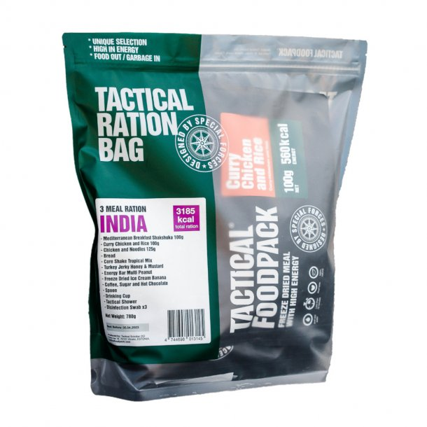 Tactical Foodpack - Feltration India (3161 Kcal)