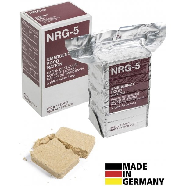 Mil-Tec - NRG-5 Nødration (2300 kcal)
