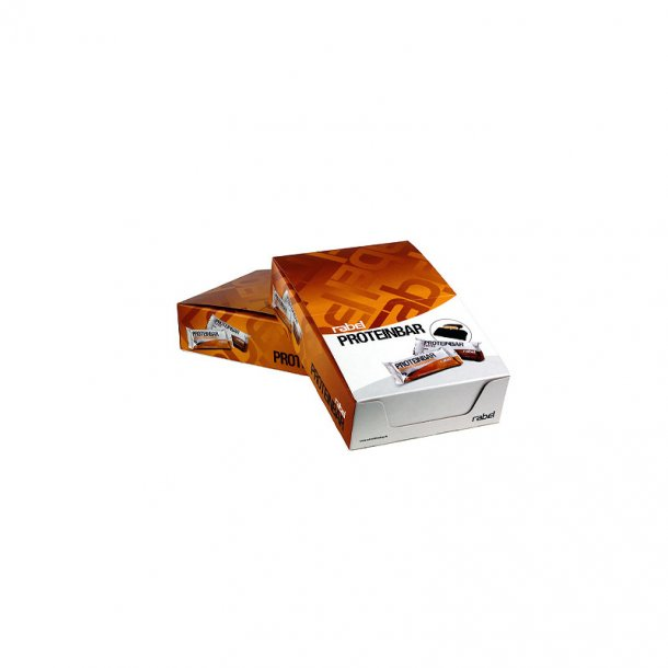 Rabel - Orange Proteinbar, hel kolli (12 x 40 g)