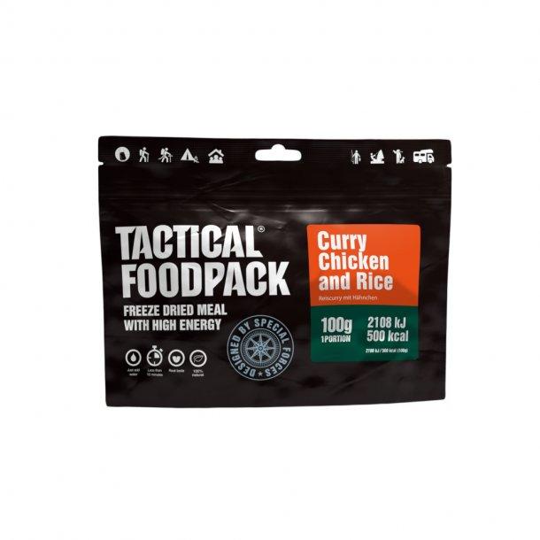 Tactical Foodpack - Kylling i Karry og Ris (500 Kcal)