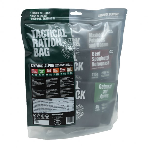 Tactical Foodpack - Sixpack Alpha (2898 Kcal)
