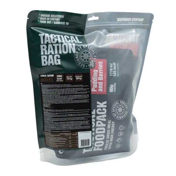 Tactical Foodpack - Hotel Feltration, 3 måltider 3080 Kcal