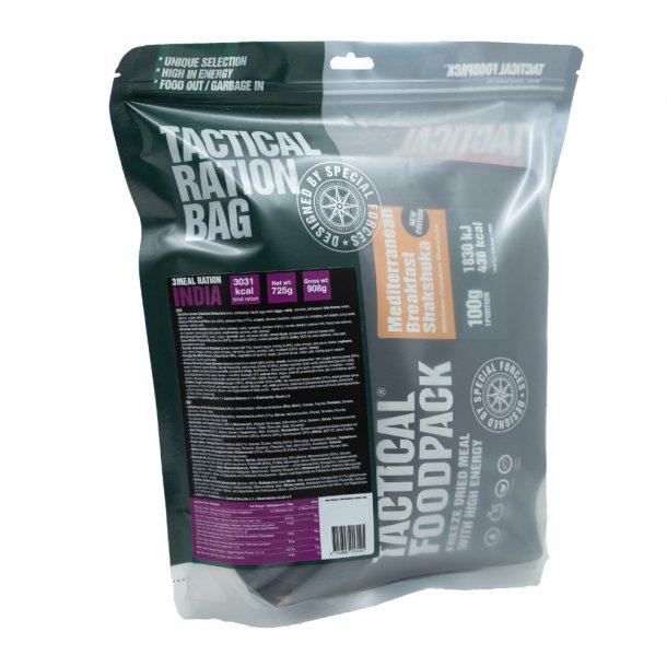 Tactical Foodpack - India Feltration, 3 måltider 2714 Kcal