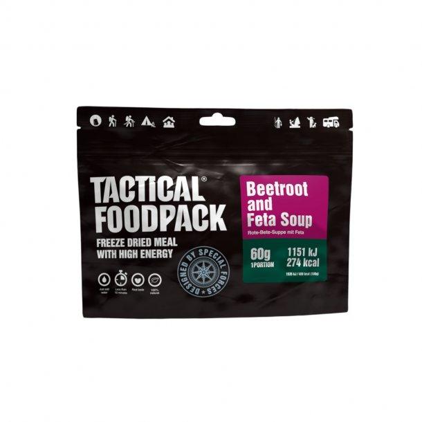 Tactical Foodpack - Suppe med rødbede og feta (274 Kcal)
