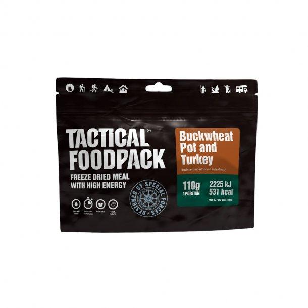 Tactical Foodpack - Boghvede og Kalkun (531 Kcal)
