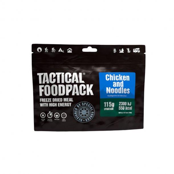 Tactical Foodpack - Kylling og Nudler (550 kcal)