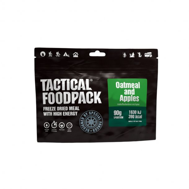 Tactical Foodpack - Havregrød Med Æble (390 Kcal)