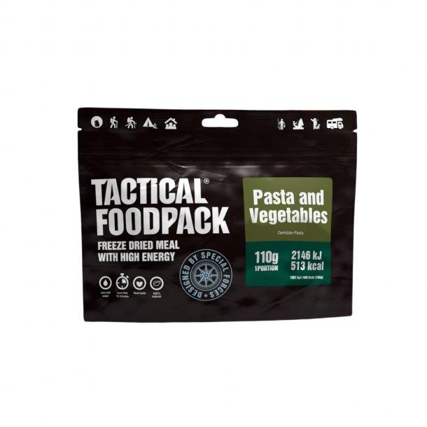 Tactical Foodpack - Pasta og Grøntsager (513 kcal)