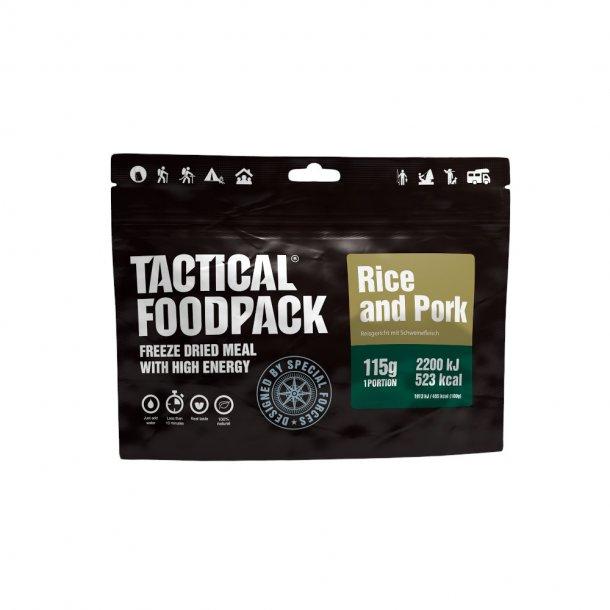 Tactical Foodpack - Svinekød og Ris (523 Kcal)