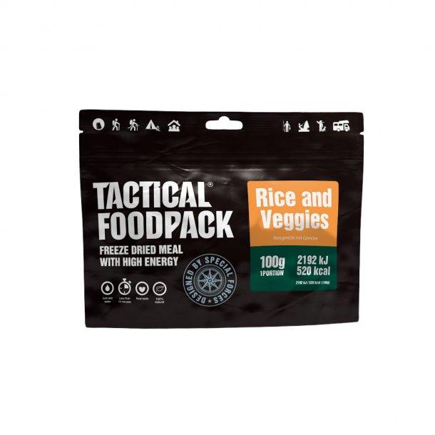 Tactical Foodpack - Ris og Grøntsager (520 Kcal)