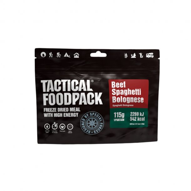 Tactical Foodpack - Spaghetti Bolognese (542 kcal)