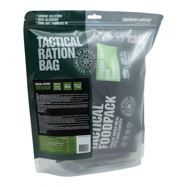 Tactical Foodpack - Veganske feltrationer, 3 måltider (2510 kcal)