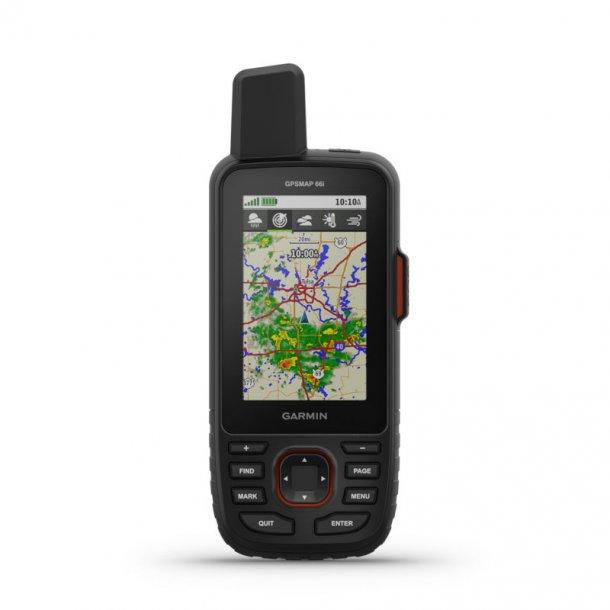 Garmin - GPSMAP 66i Håndholdt GPS med inReach nødsender