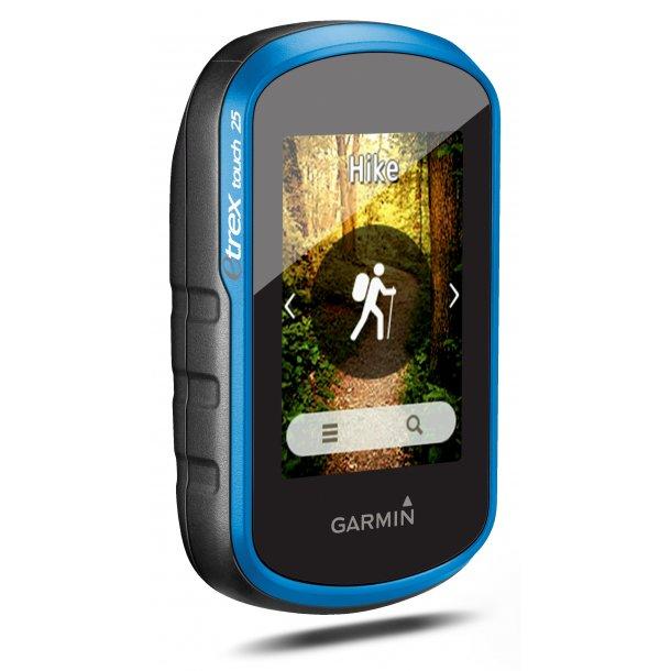 Garmin - eTrex Touch 25 Håndholdt GPS