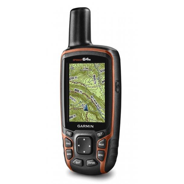 Garmin - Håndholdt GPS Map 64s
