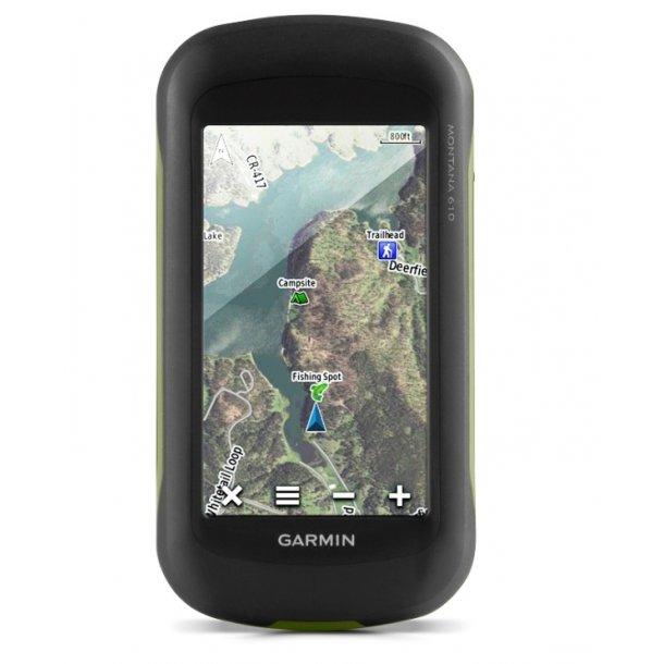 Garmin - Montana 610 Håndholdt GPS