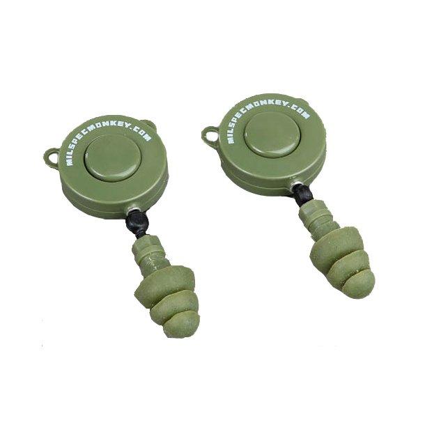 Mil-Spec Monkey - Retracto Plugs høreværn