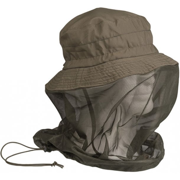 Mil-Tec - Boonie Hat m. Myggenet