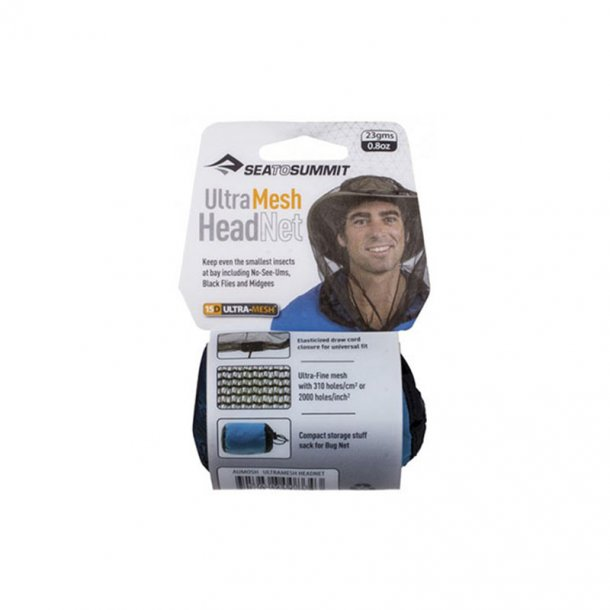 Sea To Summit - Ultra-Fine Mesh Headnet Hoved Myggenet