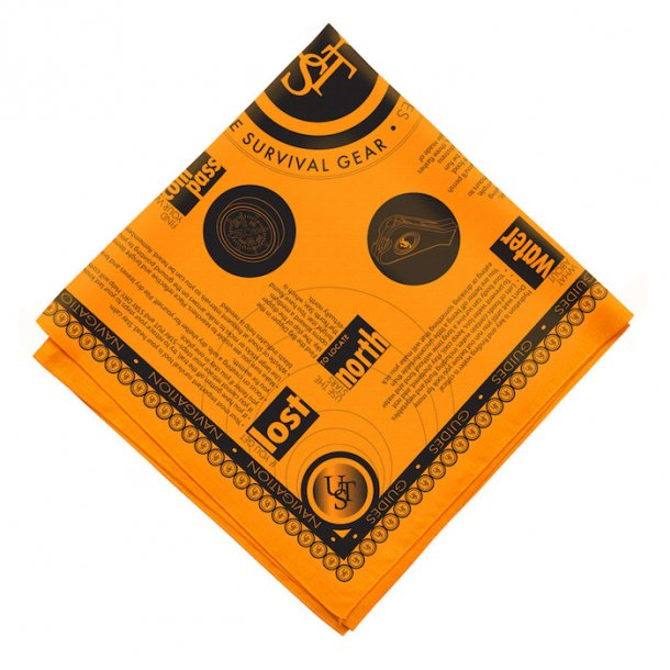 UST - Orange Survival Bandana